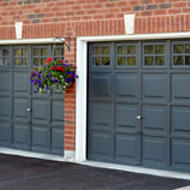 Classic Rectangular Embossed Garage Door